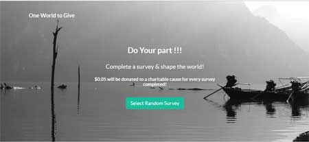 one-world-to-give-surveys